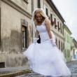 Bride on the street — Stock Photo #12708522