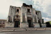 Chiesa di San Nicolo All'Arena in Catania — Stock Photo