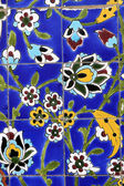 Colorful detail from Iranian mosque in Dubai — Stockfoto