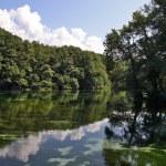Ohrid Lake in Macedonia — Stock Photo #12837406