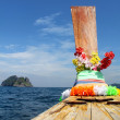Thai boat — Stock Photo