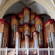 Church organ - Stock Photo