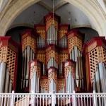 Church organ — Stock Photo