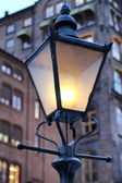 Straat lamp in oslo — Stockfoto