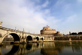 Castel Sant' Angelo, Rome, Italy — Stock Photo