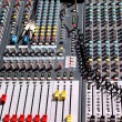 Stock Photo: Soundboard mixer
