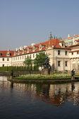 Wallenstein 花园布拉格 — 图库照片