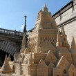 Disneyland Paris Sand Castle at Paris — Stock Photo