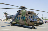 Eurocopter A5332 Cougar military helicopter — Stock Photo
