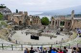 Teatro Greco, Taormina, Sicily — Stock Photo