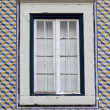 Lisbon window — Stockfoto