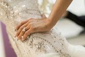 Bruden närbild — Stockfoto