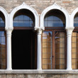 Venetian windows - Foto de Stock