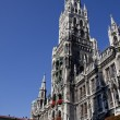 New Town Hall (Neues Rathaus) in Munich, Germany - Stock Photo