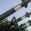 Stock Photo: Air force missile system