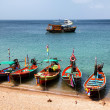 Stock Photo: Boats in Andamsea, Thailand