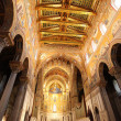 Cathedral of Monreale in Palermo, Sicily — Stock Photo #13836700
