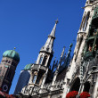 Stock Photo: New Town Hall (Neues Rathaus) in Munich, Germany