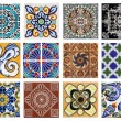 Stock Photo: Valenciazulejos