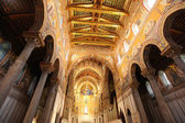 Cathedral of Monreale in Palermo, Sicily — Stock Photo
