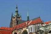 Hradcany Castle in Prague — Stock Photo