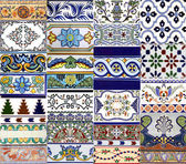 Valencia azulejos — Stock Photo