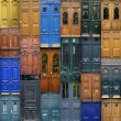 Stock Photo: Paris doors