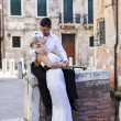 Stock Photo: Couple in Venice, Italy