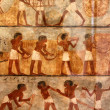 Ancient egyptian art — Stock Photo