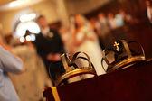 Church wedding — Stock Photo
