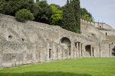 Ruiny pompejí v itálii — Stock fotografie