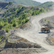 Stock Photo: Open pit