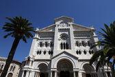 Catedral de san nicolás en mónaco — Foto de Stock