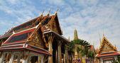 Wat Phra Kaew Grand Palace in Bangkok, Thailand — Stock Photo
