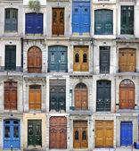 Paris doors — Stock Photo