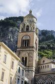 Amalfi kathedraal in italië — Stockfoto