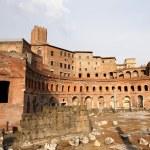 Trajan's Market (Mercati di Traiano) in Rome, Italy — Stock Photo