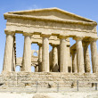 Temple of Concordia in Agrigento, Italy - ストック写真