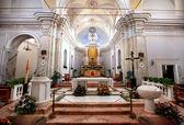 Chiesa san vincenzo stromboli Adası — Stok fotoğraf