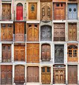 Valencia doors — Stock Photo
