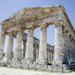 Doric temple in Segesta, Italy — Stock Photo