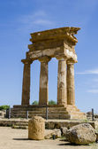 Temple of Castor and Pollux in Agrigento, Italy — Stock Photo