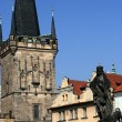 Stock Photo: MalStranBridge Tower in Prague