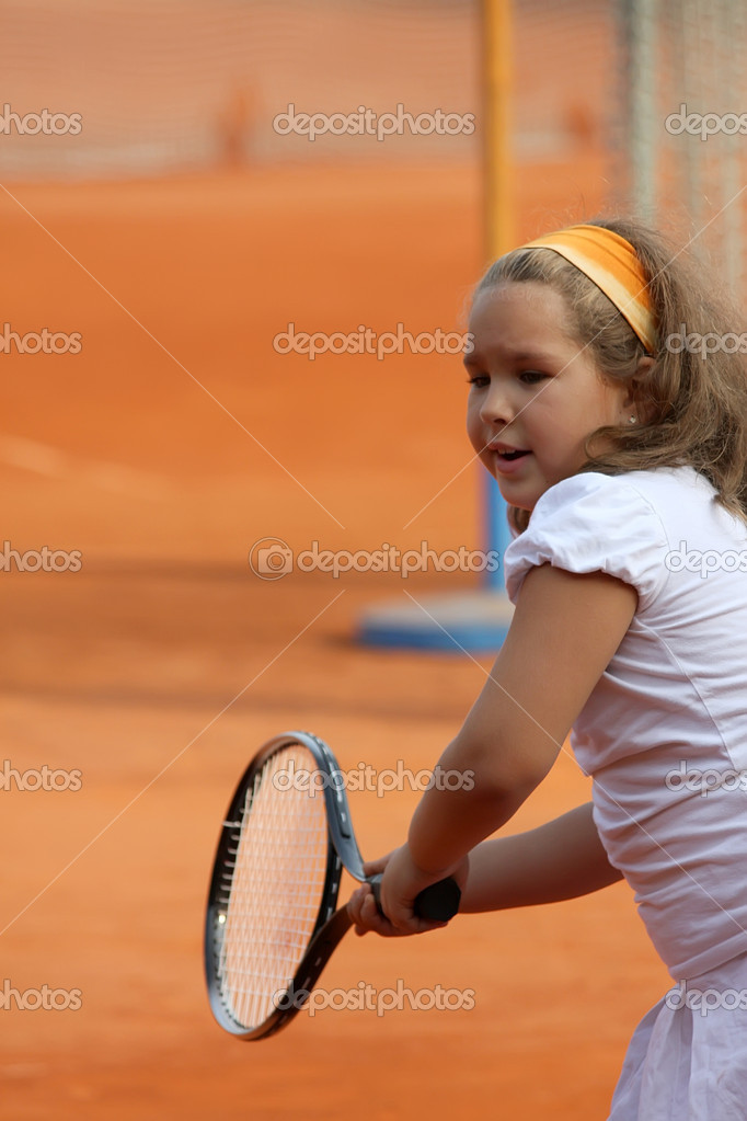Tennis girl — Stock Photo #16214253