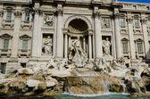 Fontana di Trevi a Roma — Foto Stock