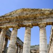 Doric temple of Segesta in Sicily, Italy — Stock Photo
