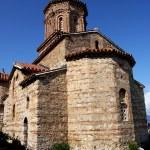 Church of St. Naum on Ohrid Lake, Macedonia — Stock Photo