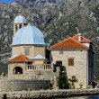 Stock Photo: Our Lady of Rocks church in Perast, Montenegro