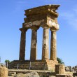 Stock Photo: Doric temple of Castor and Pollux in Agrigento, Italy