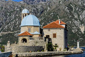 Our Lady of the Rocks church in Perast, Montenegro — Stock Photo